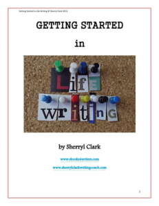 Free e-book on life writing