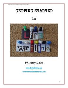 Free e-book on life writing